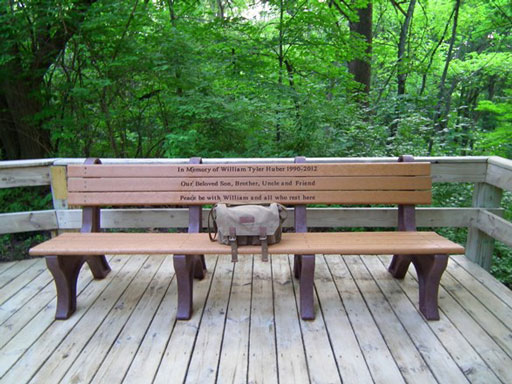 William's Memorial Bench