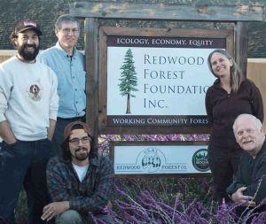 Redwood Forest Foundation, Usal Redwood Forest Co.Receive Leadership Award