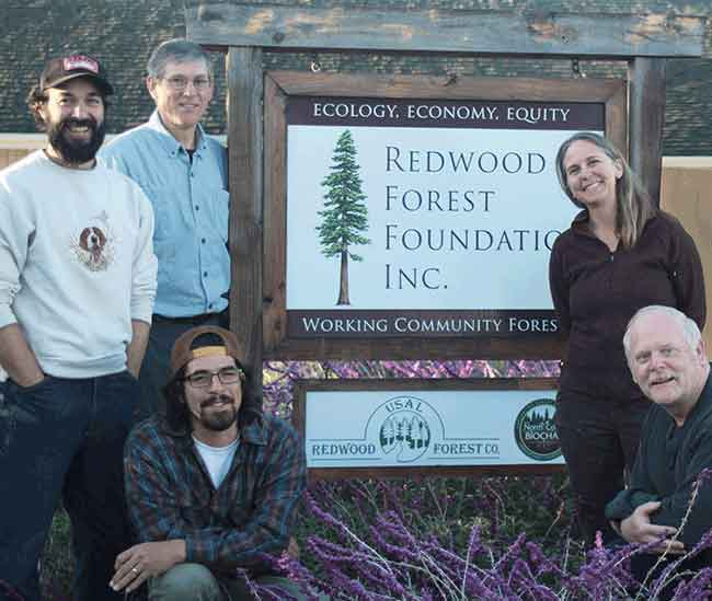 Redwood Forest Foundation, Usal Redwood Forest Co.Receive Leadership Award
