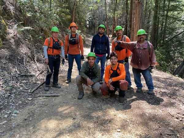 Vasquez Tree Reforestratopm Crew